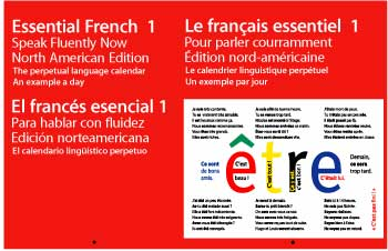 Essential French 1 Calendar