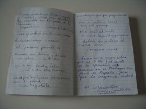 Fig. 2 Contents of a notebook